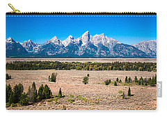 Fall Tetons   Carry-all Pouch by Lars Lentz