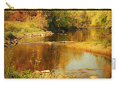 Fall Time At Rum River Carry-all Pouch