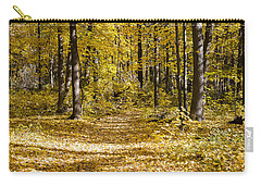 Fall Trail - Arboretum - Madison - Wisconsin Carry-all Pouch