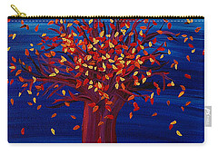 Fall Tree Fantasy By Jrr Carry-all Pouch by First Star Art