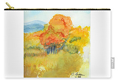 Fall Trees 2 Carry-all Pouch by C Sitton
