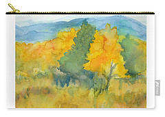 Fall Trees Carry-all Pouch by C Sitton