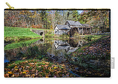 Fallen Leaves At Mabry Mill Carry-all Pouch