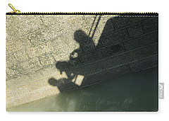 Falling Into The Water Carry-all Pouch by Menega Sabidussi