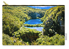 Falling Lakes Of Plitvice National Park Carry-all Pouch