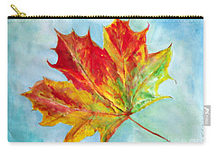 Falling Leaf - Painting Carry-all Pouch