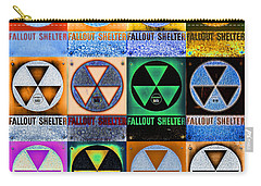Fallout Shelter Mosaic Carry-all Pouch by Stephen Stookey