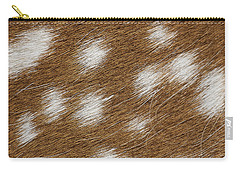 Fallow Deer Fur Carry-all Pouch