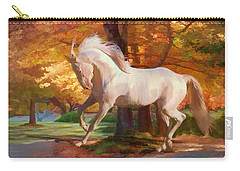 Carry-all Pouch featuring the photograph Fall's Fancy by Melinda Hughes-Berland