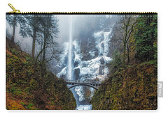 Falls Of Heaven Carry-all Pouch by James Heckt