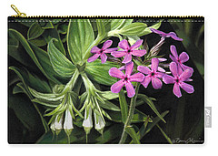 False Gromwell With Prairie Phlox Carry-all Pouch