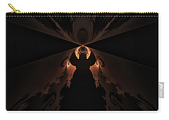 Carry-all Pouch featuring the digital art False Prophet by GJ Blackman