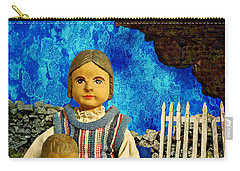 Carry-all Pouch featuring the mixed media Family by Ally  White