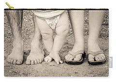 Family Feets Carry-all Pouch by Bill Pevlor