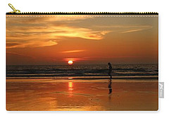 Family Reflections At Sunset - 4 Carry-all Pouch