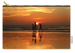 Family Reflections At Sunset - 1 Carry-all Pouch