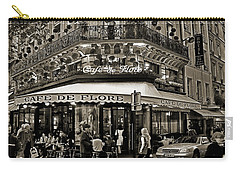 Famous Cafe De Flore - Paris Carry-all Pouch
