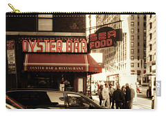 Famous Oyster Bar Carry-all Pouch by Jon Woodhams