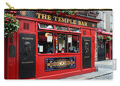 Famous Temple Bar In Dublin Carry-all Pouch by IPics Photography