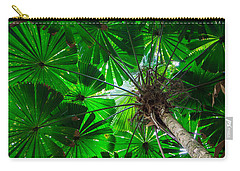 Fan Palm Tree Of The Rainforest Carry-all Pouch