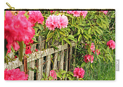 Fancy Fence Carry-all Pouch by E Faithe Lester