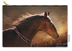 Fancy Free Carry-all Pouch by Michelle Twohig