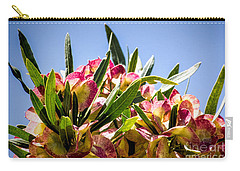 Fanned Flowers Carry-all Pouch