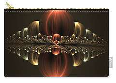 Carry-all Pouch featuring the digital art Fantastic Skyline by Gabiw Art