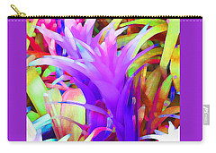 Fantasy Bromeliad Abstract Carry-all Pouch