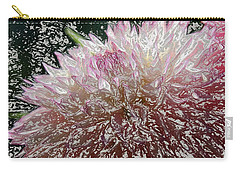 Carry-all Pouch featuring the photograph Fantasy Dahlia by Denyse Duhaime