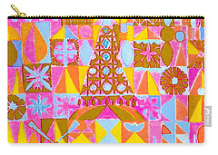 Fantasy In Form Carry-all Pouch by Beth Saffer