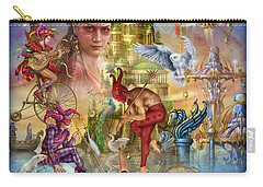 Fantasy Island Carry-all Pouch by Ciro Marchetti
