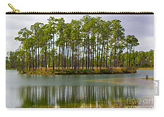 Fantasy Island In The Florida Everglades Carry-all Pouch