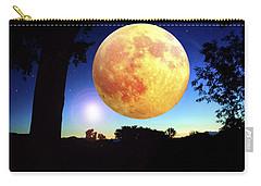 Fantasy Moon Landscape Digital Art Carry-all Pouch