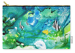 Fantasy Sea Carry-all Pouch by Joan Hartenstein