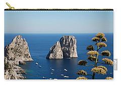 Faraglioni In Capri Carry-all Pouch by Dany Lison