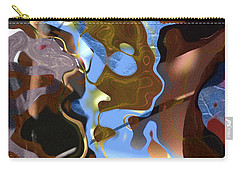 Carry-all Pouch featuring the digital art Fargo by Richard Thomas