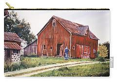 Farm In Fenton Michigan Carry-all Pouch