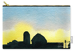 Farm Silhouette 1 Carry-all Pouch