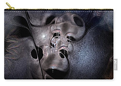 Carry-all Pouch featuring the digital art Farmaceutical Future by Casey Kotas