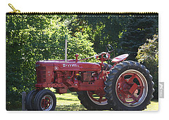 Farmall's End Of Day Carry-all Pouch by Denyse Duhaime
