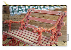 Farmer Bench Carry-all Pouch by Kerri Mortenson
