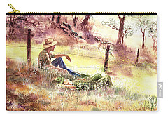 Farmers And Hunters Heaven Carry-all Pouch