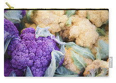 Farmers Market Purple Cauliflower Carry-all Pouch