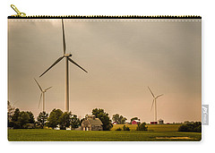 Farms And Windmills Carry-all Pouch