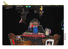 Carry-all Pouch featuring the photograph Faro Dealer The Shootist John Wayne by David Lee Guss