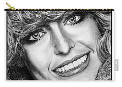 Farrah Fawcett In 1976 Carry-all Pouch by J McCombie
