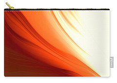 Glowing Orange Abstract Carry-all Pouch