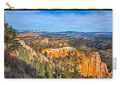 Carry-all Pouch featuring the photograph Farview Point Tableau by John M Bailey