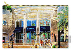Fashion Vegas Style Carry-all Pouch by Barbara Chichester